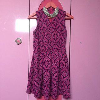 Pink-Purple Dress