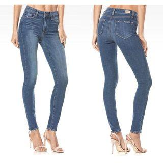 Paige Hoxton High-rise Skinny Jeans 26