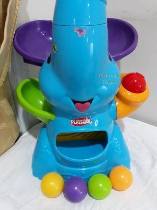 Bola bayi Playskool poppin park elefun ball