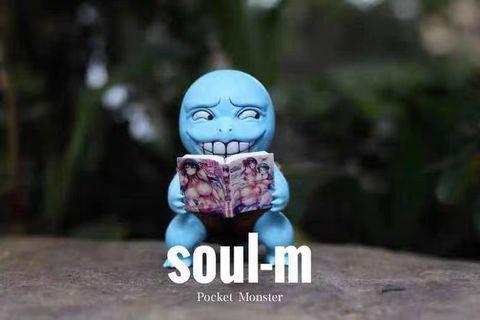 全新 正版soul-m 猥瑣表情 車厘龜 GK模型figure 寵物小精靈 Pokemon