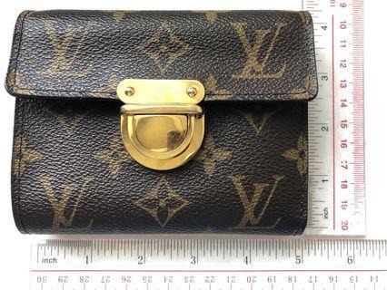 LV Wallet•9卡•放相片•可放硬幣
