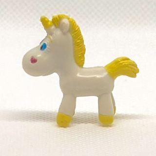 Kinder toy surprise - Buttercup Unicorn from Toy Story 3 micro figurine