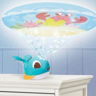 Tiny Love Cody Dolphin Take-Along Projector Soother for cot and travel
