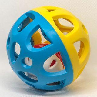 KidSource Shake and Roll Ball - Baby Toy for Sensory Play