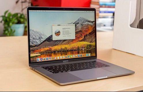 MacBook Pro 15 inch with 3 years warranty