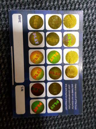 Play United Stickers (50@2.50ea=$125)