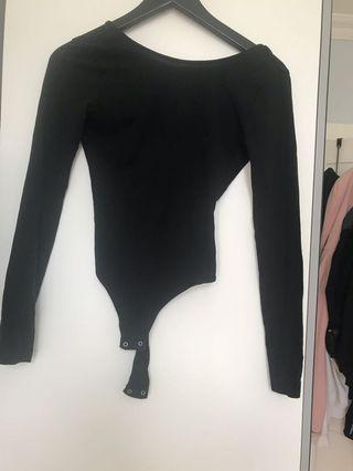 Black Garage Body Suit