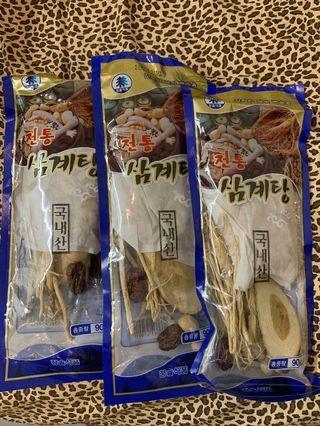 韓國老字號🐔人蔘雞湯包