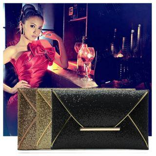 🚚 Lady Sparkling Dazzling Sequins Clutch Bag Purse Evening Party Handbag for $16.90 (Free mail postage)