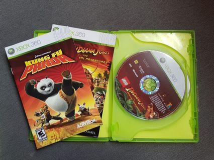 Xbox 360 Lego Indiana Jones & Kung Fu Panda Combo