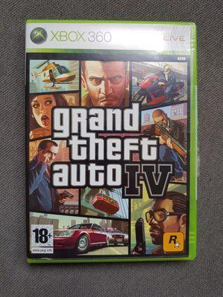 Xbox 360 GTA IV