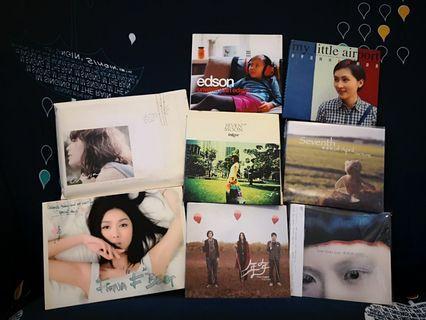 ( 多款)本地及外語歌手及樂隊CD & DVD