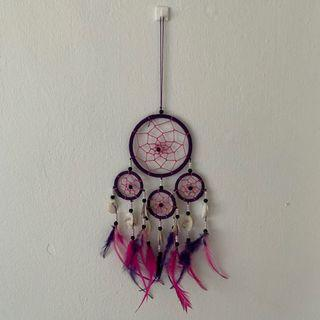 Pink & Purple Dreamcatcher