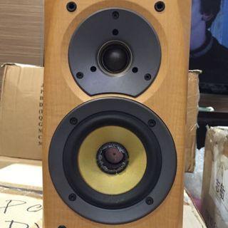 Sony Bookshelf 2 Way Speakers SS-CSD1 Hifi Wood Chasis