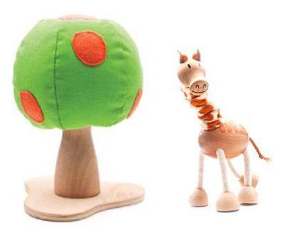 Anamalz toy-Orange Tree+Giraffe
