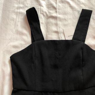 🚚 BNWT TEM black Mareena wide leg jumpsuit