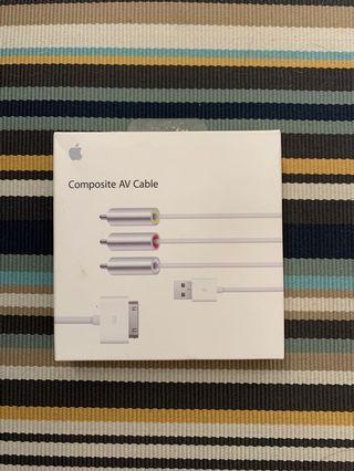 🚚 Original Apple AV Composite Cable