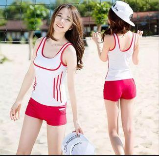 ~Free WM postage~ Fashionable 2pcs Swimming wear