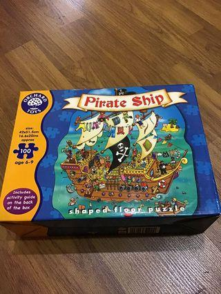 Pirate Ship Kids Jigsaw Puzzle