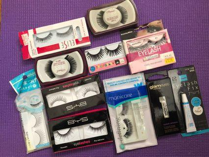 Girls shine up your eyes with extension eyelashes!!