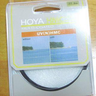 兩塊 77mm 濾鏡,HOYA UV(N) / CITIWIDE 77mm MC UV