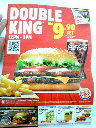 BURGER KING food voucher #CarousellFaster