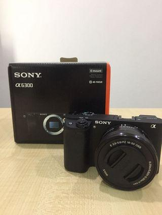 Sony A6300L + W/16-50kit lens
