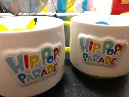 💕現貨只淨一套💕 pkstore 已絕版!比卡超 寵物小精靈 pokemon pikachu 比卡超 波加曼 送禮 牛奶杯 全新