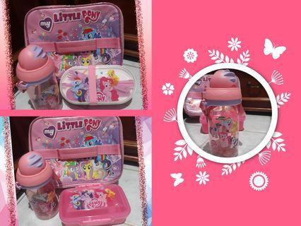 🌸Little Pony Lunch Bag Set🌸