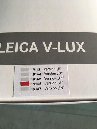 Leica V Lux Version A. Type 114. Serious Buyer only