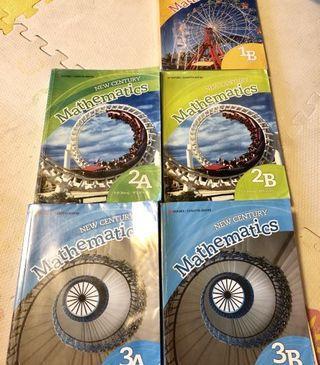New Century Mathematics 1A,1B,2A,2B,3A,3B