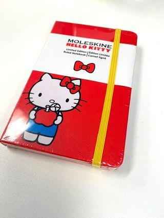 Moleskine ruled notebook (hello kitty limited edition)