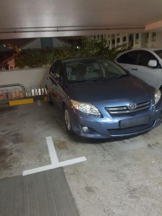 Toyota Altis for rent $1,150 per month