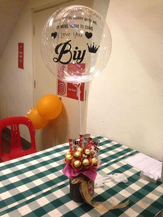 Surprise Delivery Bouqet Coklat/Buah/Bunga/Box and others
