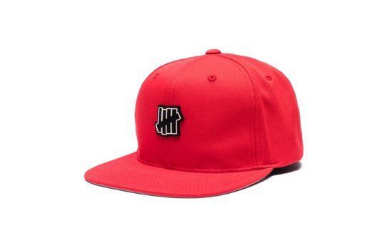 Undefeated rubber icon Strapback cap