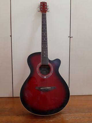 吉他(附贈調音器、背帶、套子)