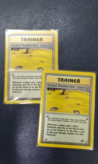 Pokemon Trainer Cards