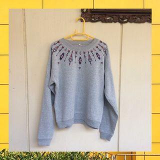 Grey Sweater sale 75k