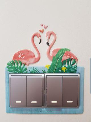 3D Wall Switch Decoration Soft Stickers (Pre-order)