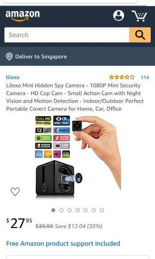Sports/spy Cam/magnetic