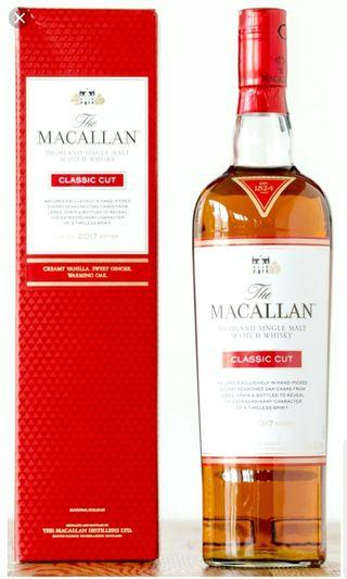 Macallan Classic cut 2017 + free Kavalan samples