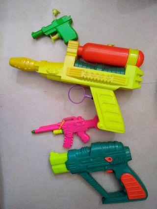 New 4 Water gun 水槍x4
