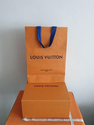 Louis Vuitton Empty Box & Paper