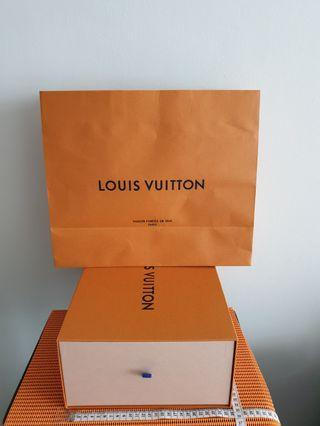 Louis Vuitton Empty  Box  & Paper Bag