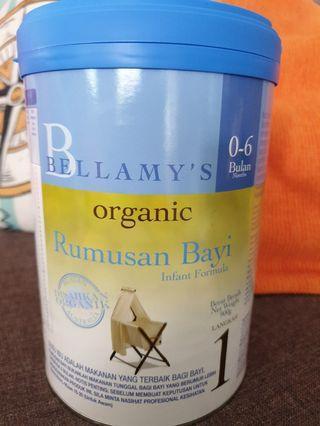 Bellamy's organic Infant Formula 0-6 Months