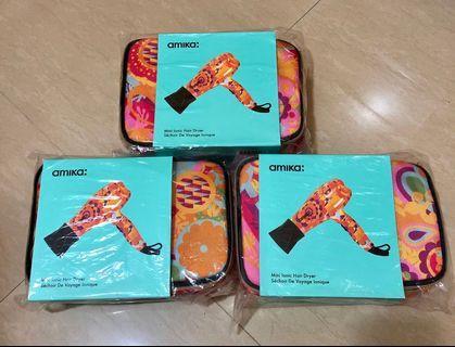 最新現貨 美國版 Amika Mini Ionic Hair Dryer Obliphica  迷你風筒 旅行風筒