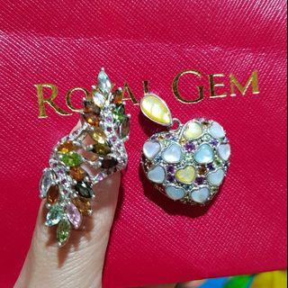 💐elegant ring and Pendant