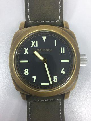 CLEARING PRICE:RM850. Maranez Layan Brass Automatic Watch