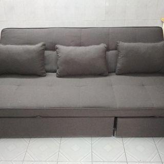 Sofa bed 2.1 M  by 90 cm (pick up this weekend 20/21 July)