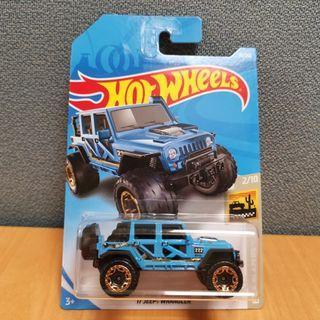 Hot Wheels BAJA BLAZERS 17 JEEP WANGLE blue